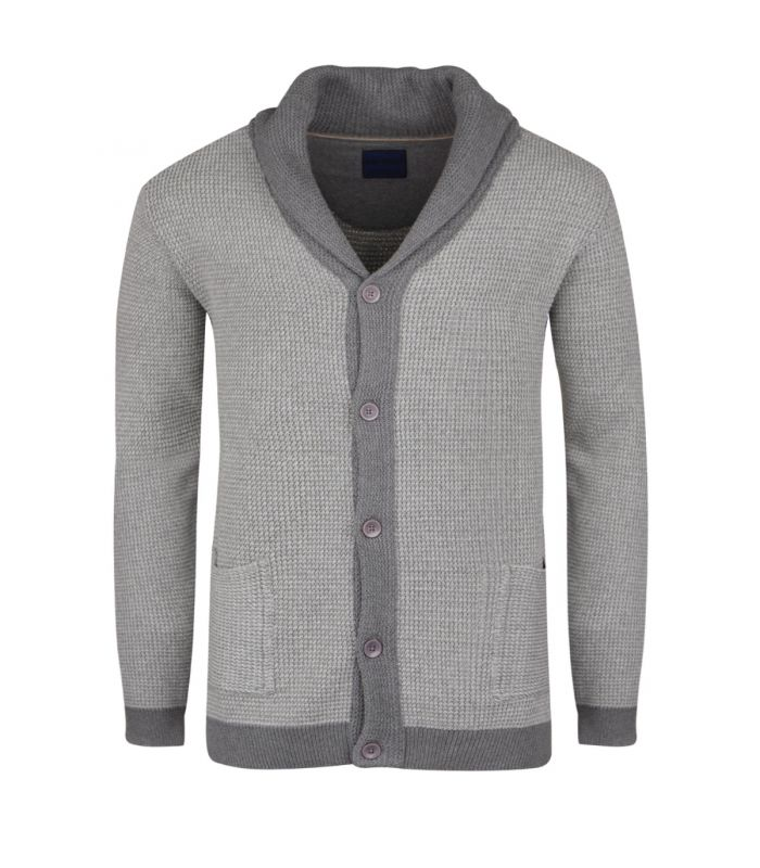 gilet gris grande taille