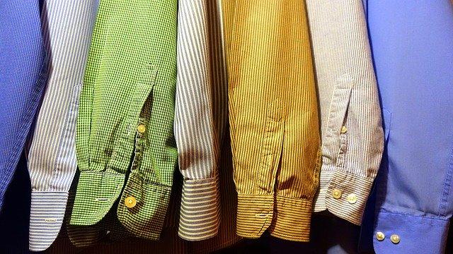 matières pour chemises grandes tailles