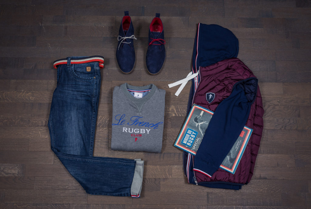 Total look Ruckfield avec un jean homme grande taille